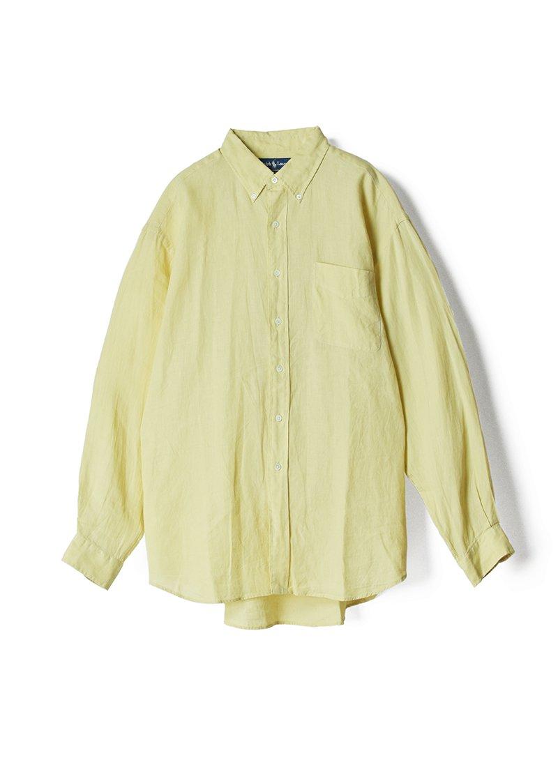 USED RALPH LAUREN Linen B.D.Shirt No.1