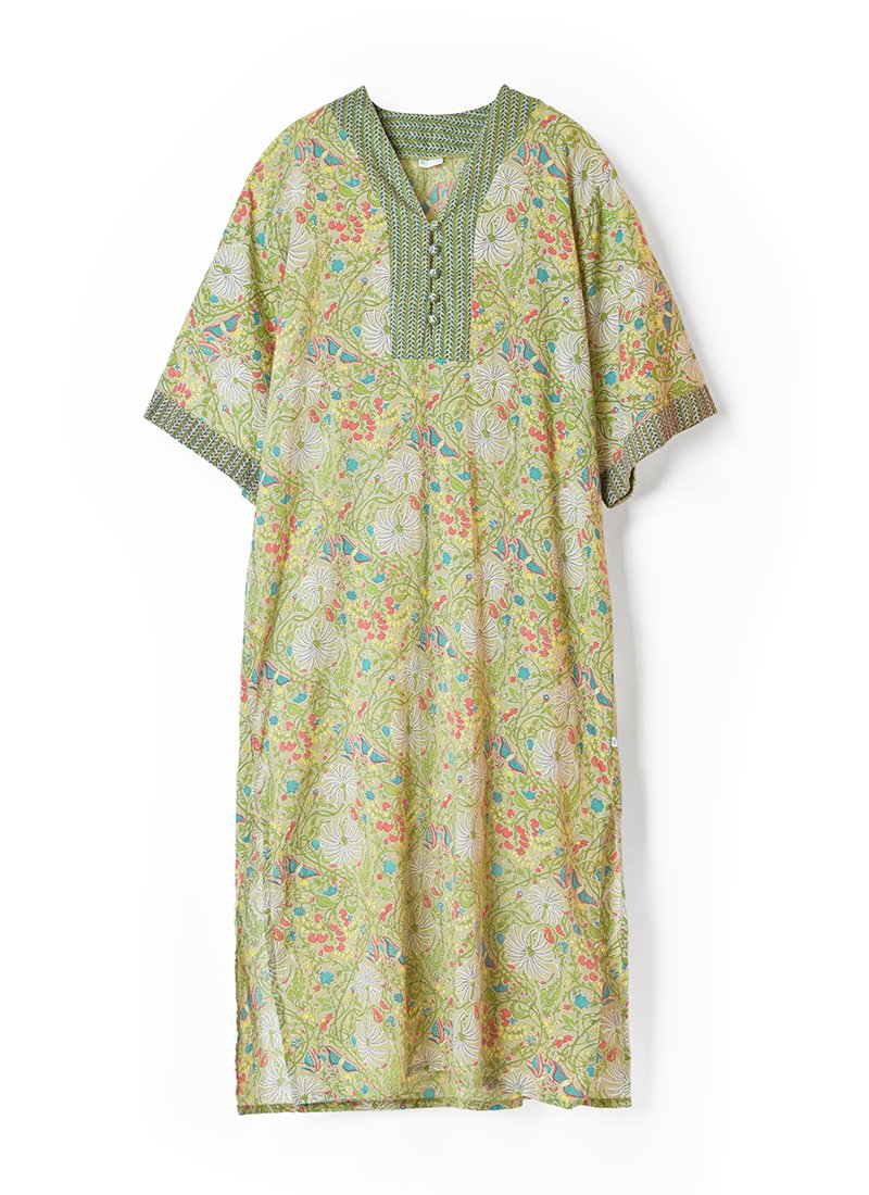 USED Made in India Floral Dress