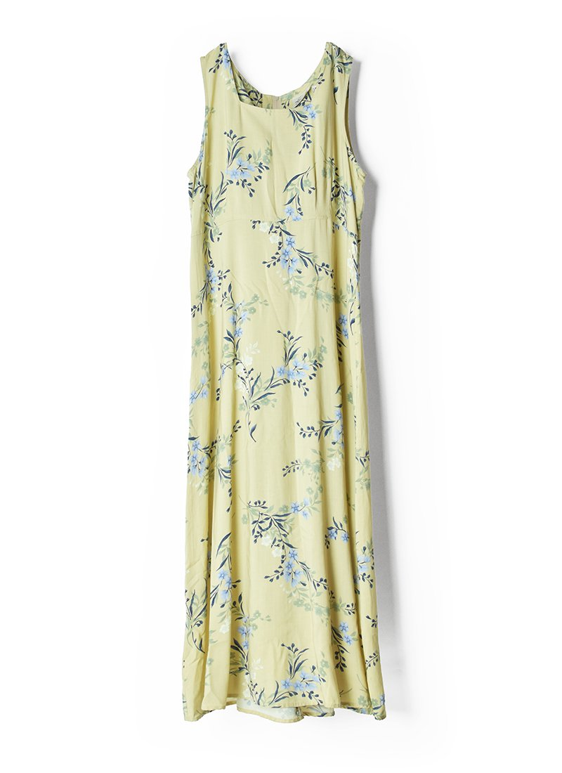 USED Floral Print Dress No.10