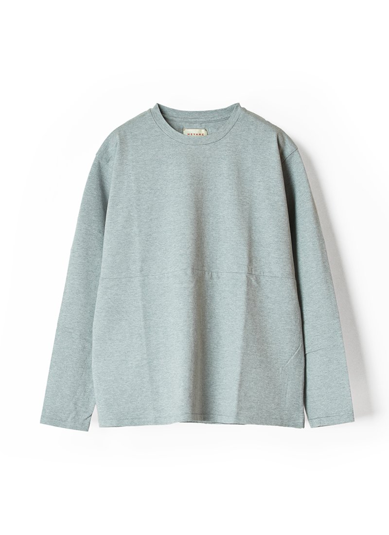 MEYAME Elbow Patch Long Sleeve Tee