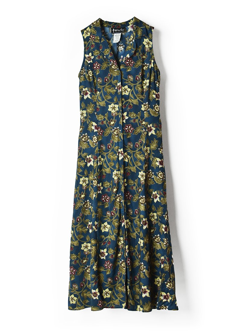 USED Floral Print Dress No.12