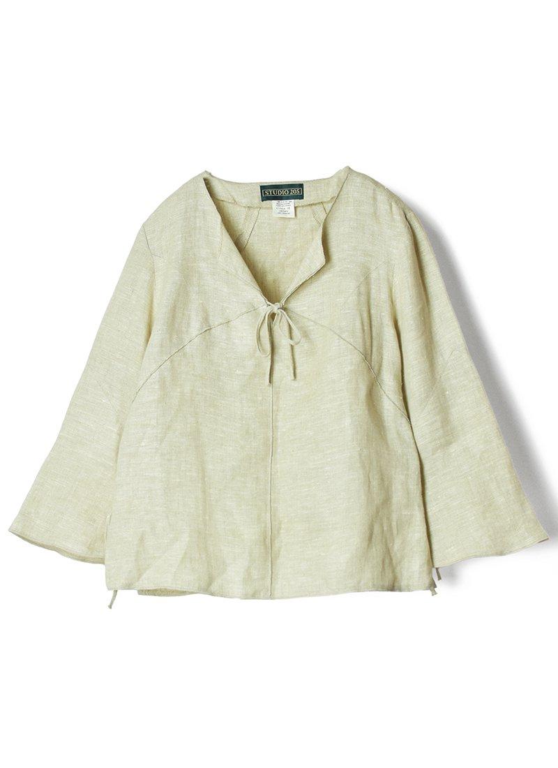 USED Linen Design Pullover