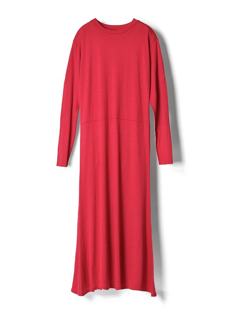 MEYAME High Gauge Wool Dress