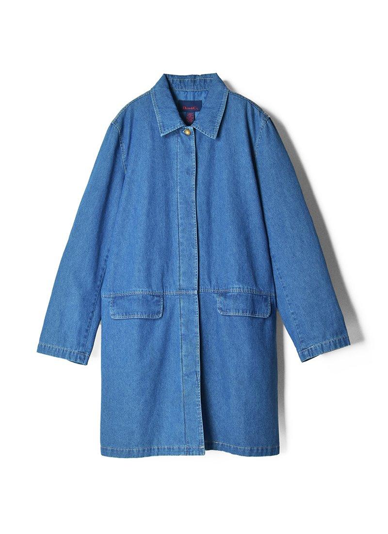 USED Denim Duster Coat