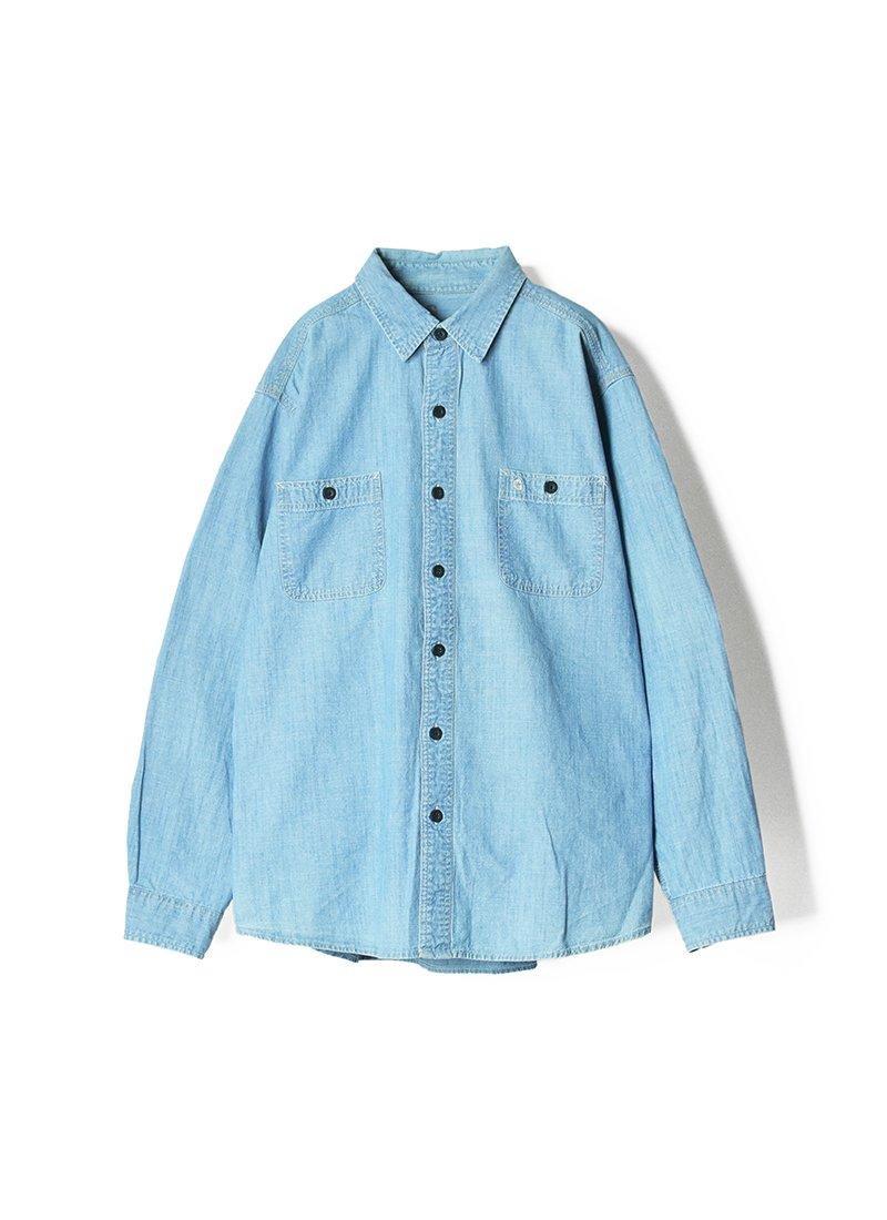 USED CARHARTT Work Chambray Shirt