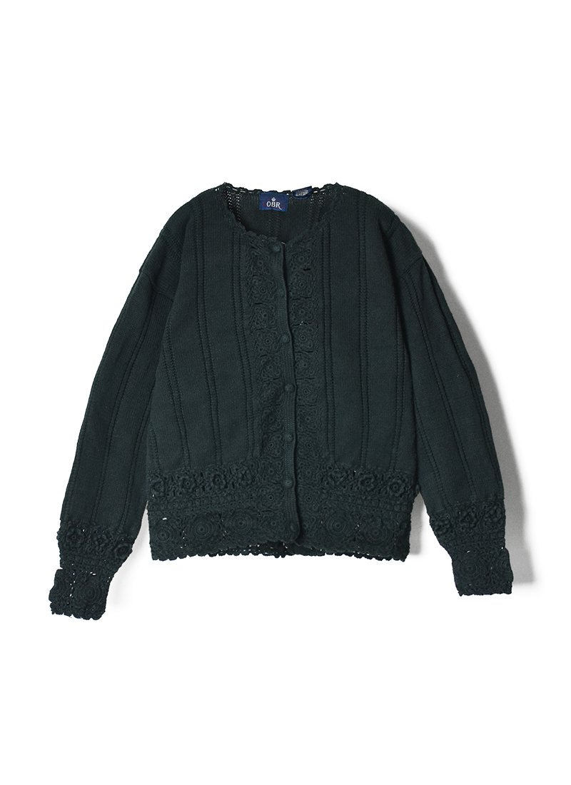 USED Cotton Knit Cardigan No.2