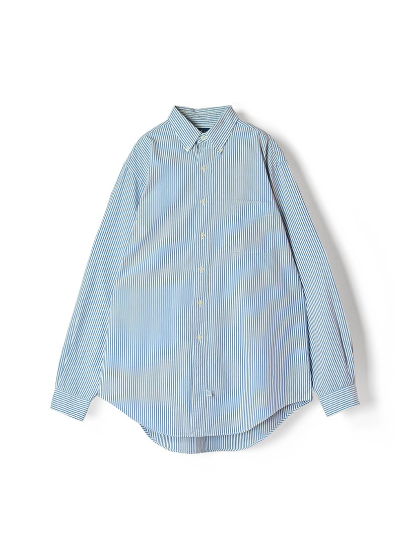 USED RALPH LAUREN Stripe B.D.Shirt No.18