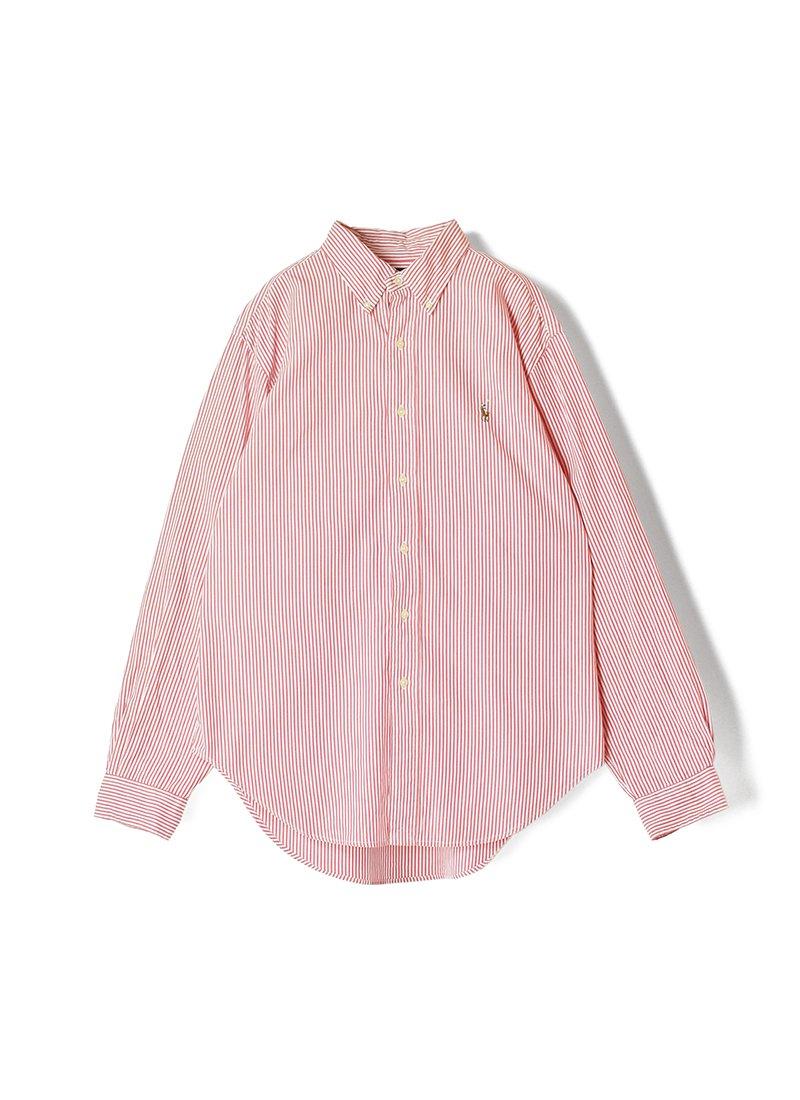 USED RALPH LAUREN Stripe B.D.Shirt No.21