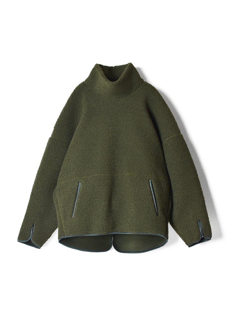 ARCHI Boa Fleece High Neck Pullover