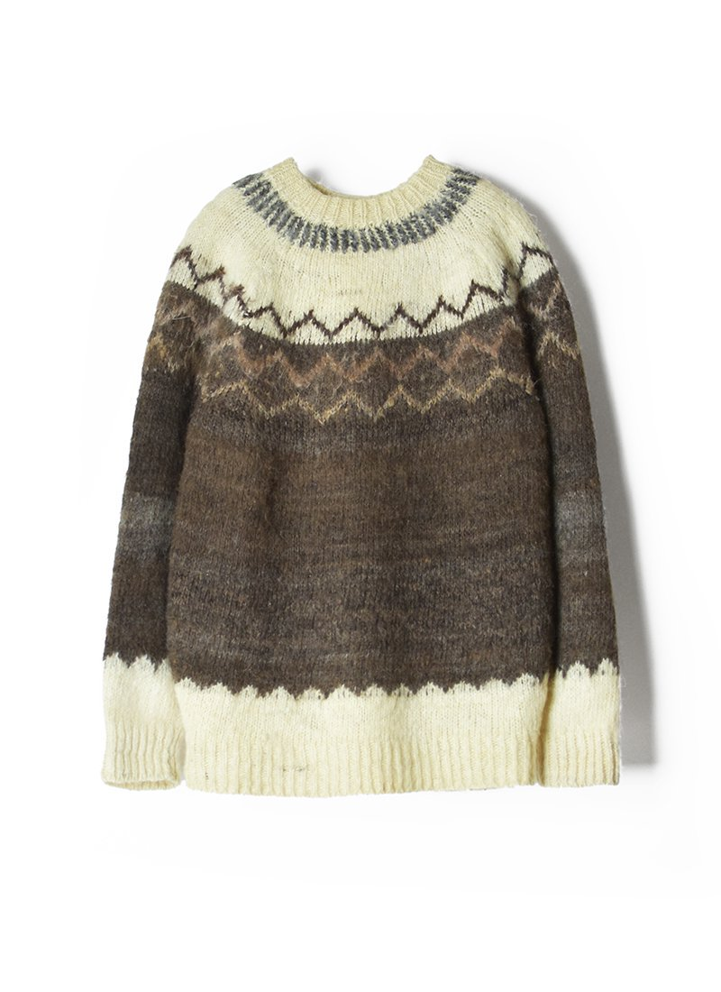 USED Nordic Mohair Knit
