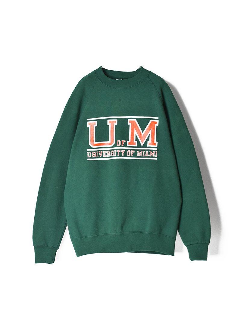 USED College Print Sweat Shirts No.2
