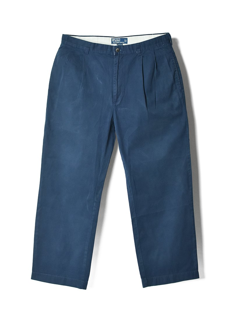 USED Ralph Lauren Tuck Trousers No.3
