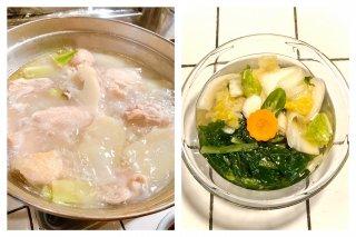 お得!!タッカンマリ大(麺2人前付き)水キムチセット