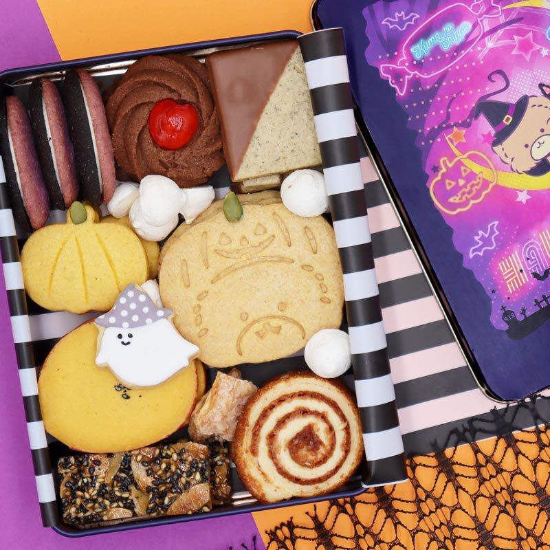 【ハロウィン】クッキー缶