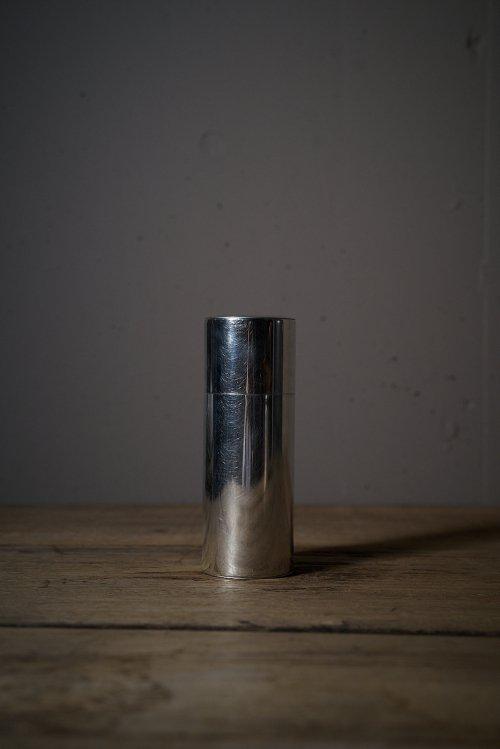 丸缶 ブリキ細長