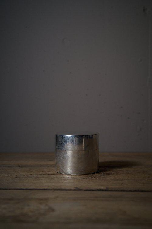 丸缶 ブリキ 大
