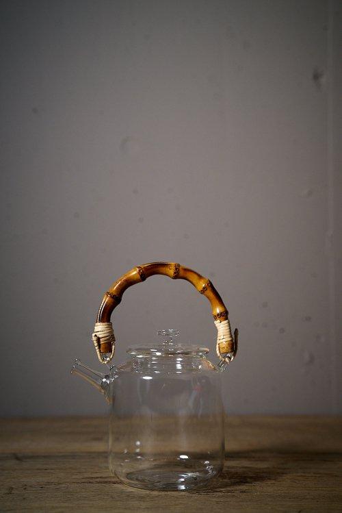 耐熱ガラスTeaPot(たけ)