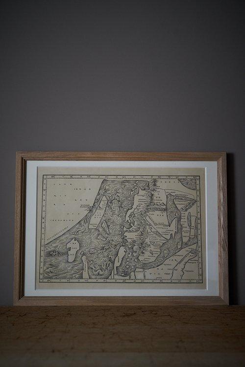 欧州プトレマイオス地図