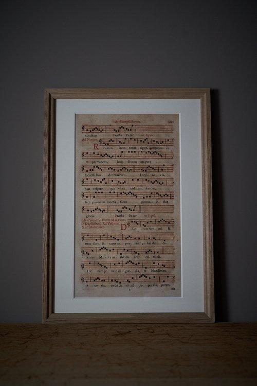 グレゴリオ聖歌ネウマ譜