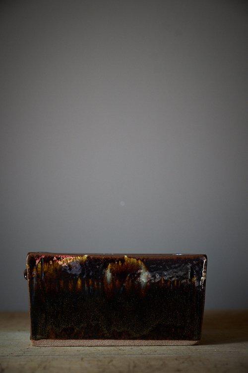 会津 宗像窯 にしん鉢