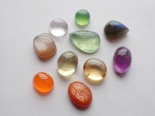 彩り天然石小粒10個セット【c2222】