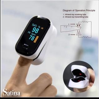 C1 OLEDディスプレイ指先血液酸素濃度計