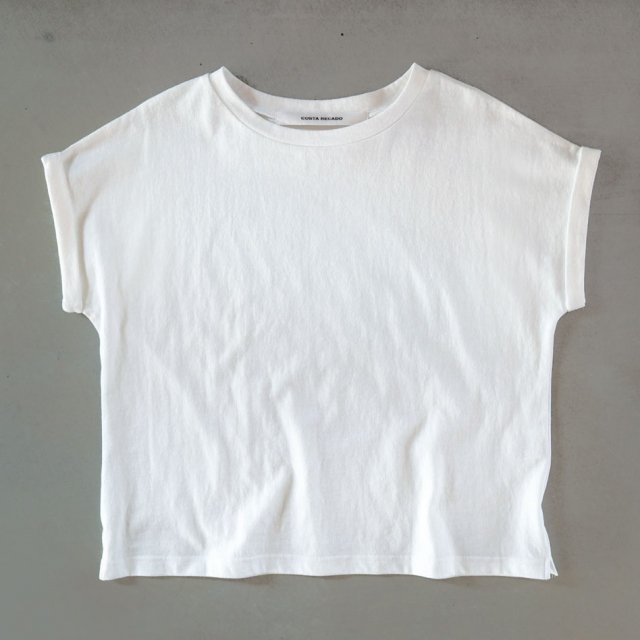 French sleeve   tops        white