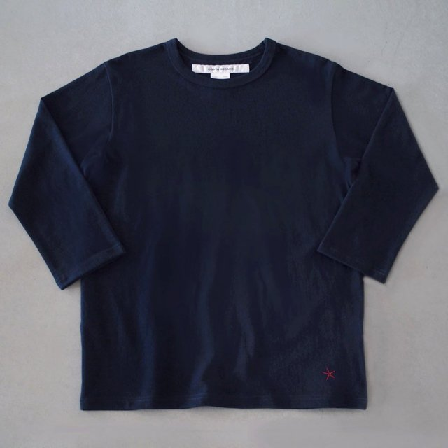 "<img class='new_mark_img1' src='https://img.shop-pro.jp/img/new/icons6.gif' style='border:none;display:inline;margin:0px;padding:0px;width:auto;' />T-shirt 7.8oz three-quarter sleeves navy ""hitode"""