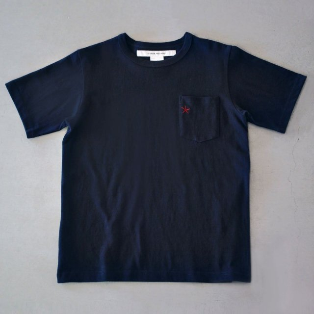 "<img class='new_mark_img1' src='https://img.shop-pro.jp/img/new/icons6.gif' style='border:none;display:inline;margin:0px;padding:0px;width:auto;' />T-shirt 7.8oz navy ""hitode"" with pocket"