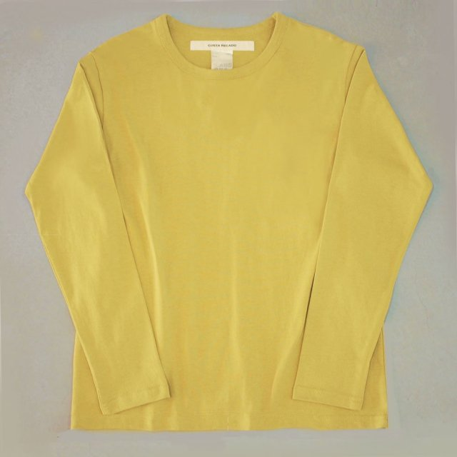 <img class='new_mark_img1' src='https://img.shop-pro.jp/img/new/icons6.gif' style='border:none;display:inline;margin:0px;padding:0px;width:auto;' />T-shirt 7.8oz solid long sleeves yellow