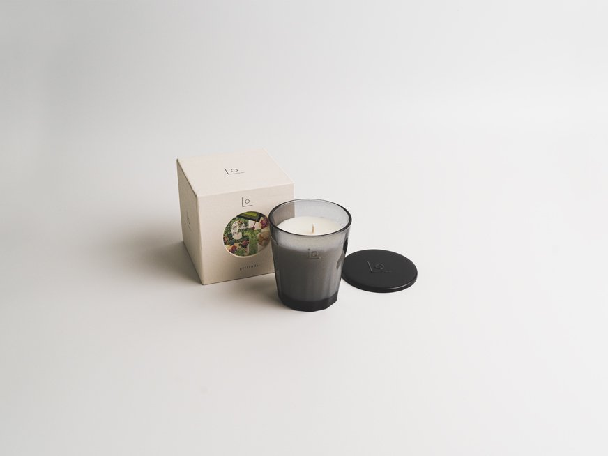 LO vegan fragrance candle/gertrude