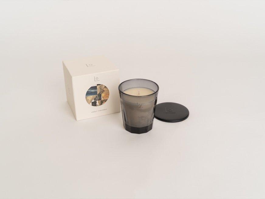 LO vegan fragrance candle/ember remember