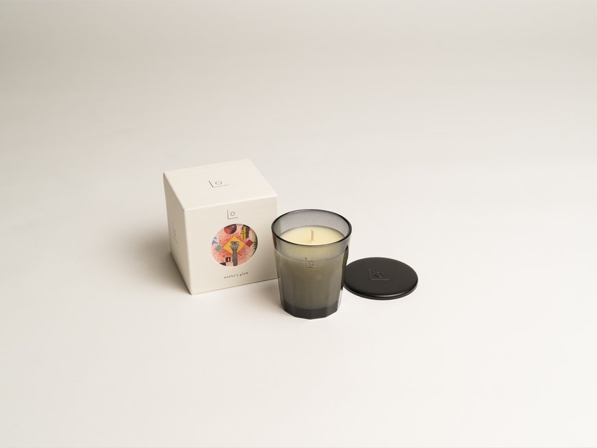 LO vegan fragrance candle/winter's glow