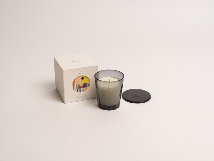 LO vegan fragrance candle/being little