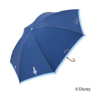 限定生産品 Disney ディズニー 『ふしぎの国のアリス』デザイン 折りたたみ傘 婦人用 レディース 数量限定