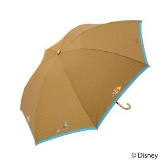 限定生産品 Disney ディズニー 『わんわん物語』デザイン 折りたたみ傘 婦人用 レディース 数量限定