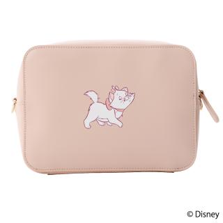 限定生産品 Disney ディズニー 『おしゃれキャット』デザイン クロスボディバッグ レディース 数量限定