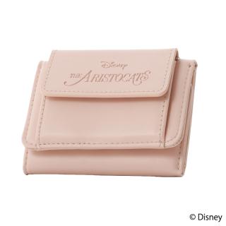 限定生産品 Disney ディズニー 『おしゃれキャット』デザイン 三つ折り財布 ウォレット レディース 数量限定