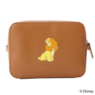 限定生産品 Disney ディズニー 『わんわん物語』デザイン クロスボディバッグ レディース 数量限定