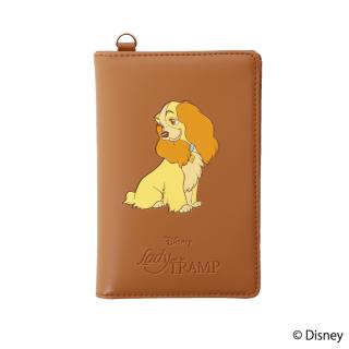 限定生産品 Disney ディズニー 『わんわん物語』デザイン パスポートケース 数量限定