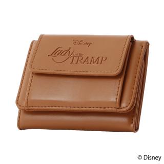 限定生産品 Disney ディズニー 『わんわん物語』デザイン 三つ折り財布 ウォレット レディース 数量限定