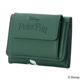 限定生産品 Disney ディズニー 『ピーター・パン』デザイン 三つ折り財布 ウォレット レディース 数量限定