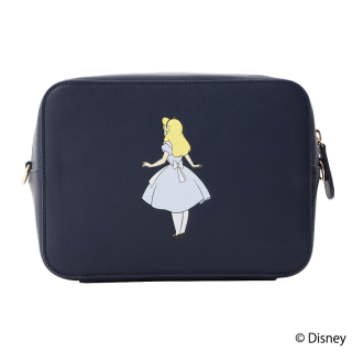限定生産品 Disney ディズニー 『ふしぎの国のアリス』デザイン クロスボディバッグ レディース 数量限定