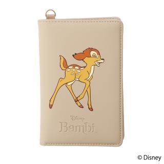 限定生産品 Disney ディズニー 『バンビ』デザイン パスポートケース 数量限定