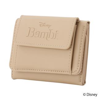 限定生産品 Disney ディズニー 『バンビ』デザイン 三つ折り財布 ウォレット レディース 数量限定