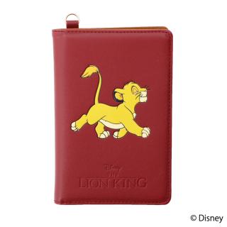 限定生産品 Disney ディズニー 『ライオン・キング』デザイン パスポートケース 数量限定