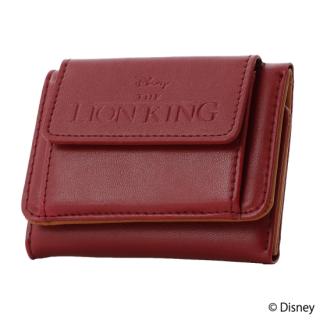 限定生産品 Disney ディズニー 『ライオン・キング』デザイン 三つ折り財布 ウォレット レディース 数量限定