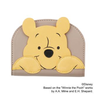 """限定生産品 Disney ディズニー 『くまのプーさん』""""プー"""" デザイン コインケース 財布 レディース 数量限定"""