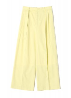 <img class='new_mark_img1' src='https://img.shop-pro.jp/img/new/icons1.gif' style='border:none;display:inline;margin:0px;padding:0px;width:auto;' />Rito (21SS)COTTON SILK PANTS YELLOW