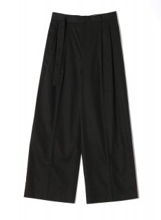 <img class='new_mark_img1' src='https://img.shop-pro.jp/img/new/icons1.gif' style='border:none;display:inline;margin:0px;padding:0px;width:auto;' />Rito (21SS)COTTON SILK PANTS Black